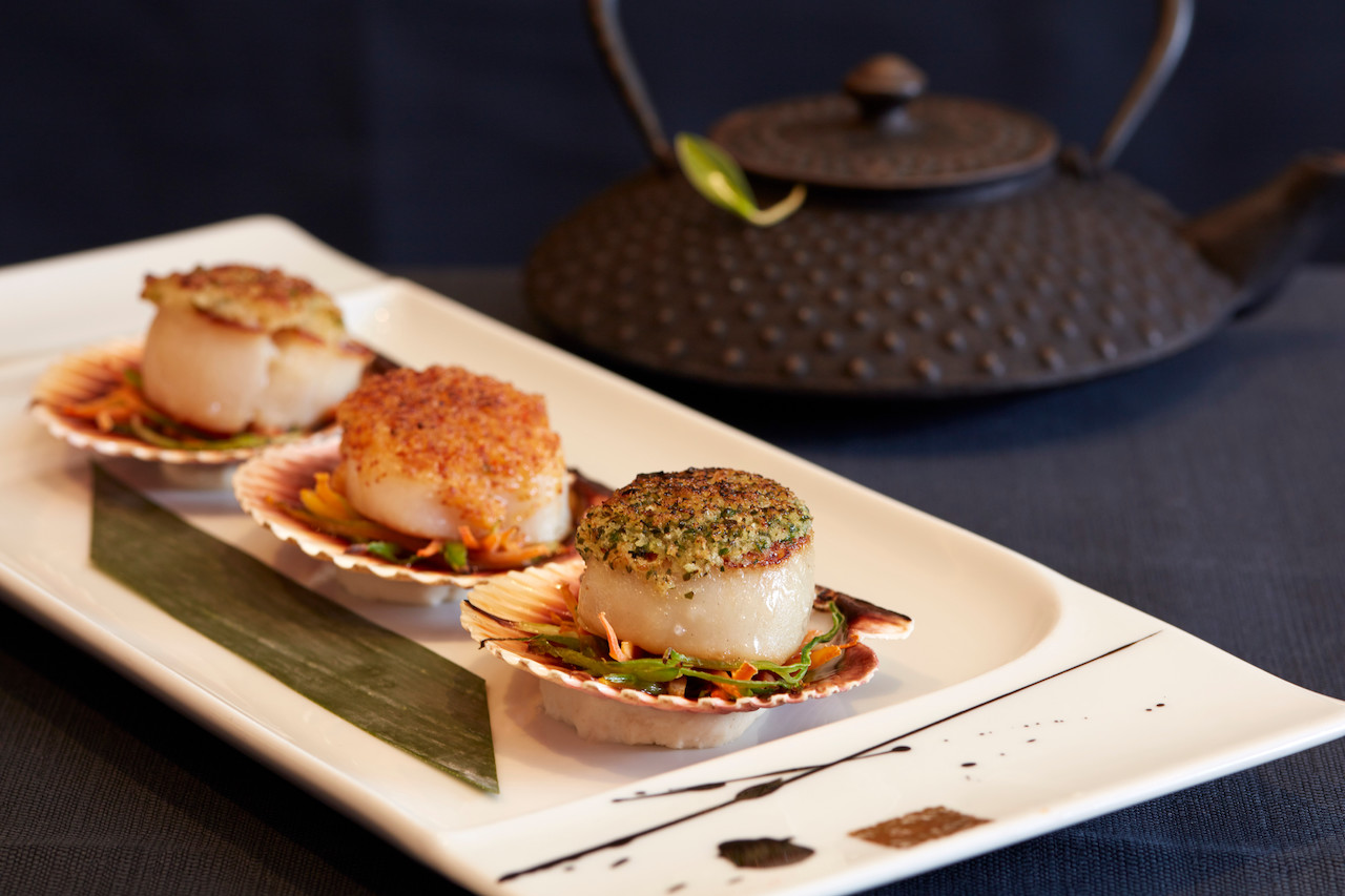 Bay Scallop Trilogy - image courtesy Oceania Cruises