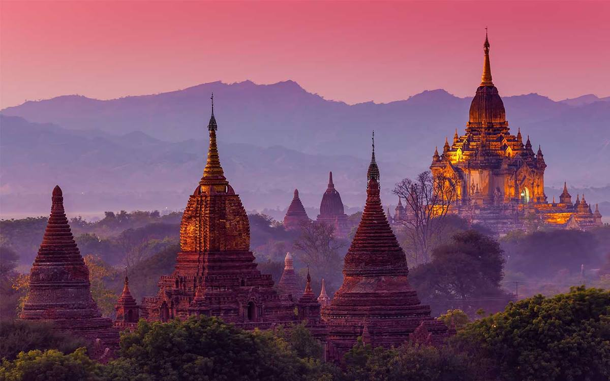 Asia Temples - Image courtesy Scenic