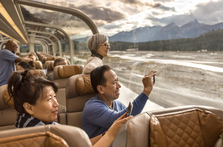 Onboard GoldLeaf Service - Image Rocky Mountaineer