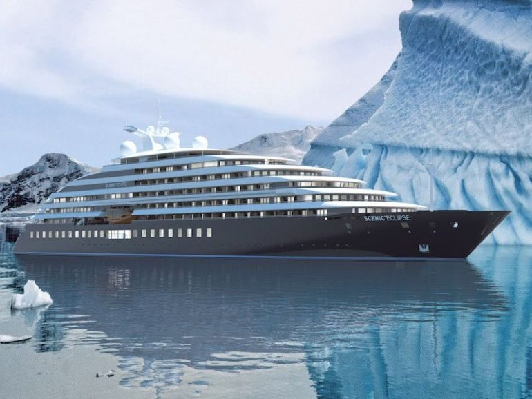 First look onboard Scenic Eclipse
