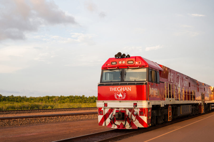 The Ghan - Image Great Southern Rail